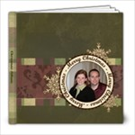Merry Christmas 8x8 20 Page Book - 8x8 Photo Book (20 pages)