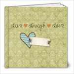 thankful heart sample book - 8x8 Photo Book (20 pages)