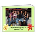 My Birthday at the Temple Club 2 - 9x7 Photo Book (20 pages)