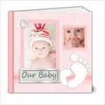baby book - 6x6 Photo Book (20 pages)
