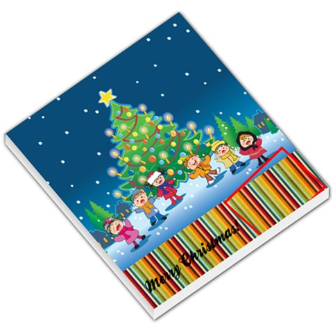 Christmas Gift Tag By Pinkishviolet   Small Memo Pads   S72m5d5ic9tt   Www Artscow Com