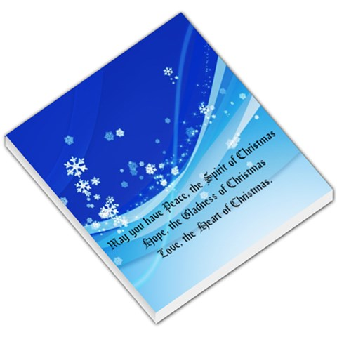 Christmas Memo Pad By Pinkishviolet   Small Memo Pads   Q6a4gy4b0azz   Www Artscow Com