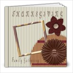 thanksgiving template book - 8x8 Photo Book (20 pages)