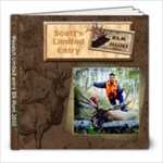 Scott s elk hunt2 - 8x8 Photo Book (39 pages)