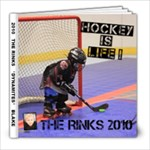 2010 Blake s Hockey - 8x8 Photo Book (20 pages)