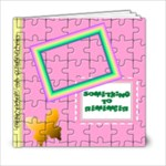 Girl s Puzzle book _Template - 6x6 Photo Book (20 pages)