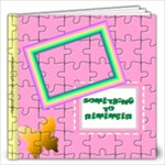 Girl s Puzzle book _Template 12x12 - 12x12 Photo Book (20 pages)