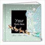 Christmas Blue - 8x8 Photo Book (20 pages)