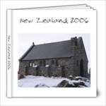 New Zealand 2006 - 8x8 Photo Book (39 pages)