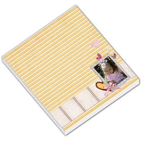 Kleo Memo Pad 1 By Sheena   Small Memo Pads   7uc3iv05ooaq   Www Artscow Com
