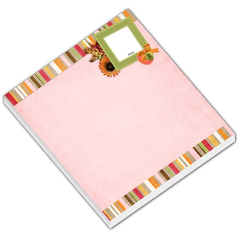 Fall Doll Memo Pad 2 By Sheena   Small Memo Pads   G1toweb7z1ts   Www Artscow Com