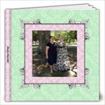 Simply Charming Pink Album 12x12 60 pages - 12x12 Photo Book (60 pages)