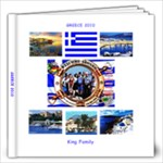 GREECE - FAMILY BOOK Kings - 12x12 Photo Book (60 pages)