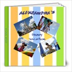 Alexzandra Disney Photo Book  - 8x8 Photo Book (20 pages)