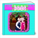 sisters template book 8x8 - 8x8 Photo Book (20 pages)