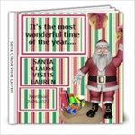 SANTA VISITS...again - 8x8 Photo Book (39 pages)