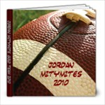 Jordan 8x8 Football Book - 8x8 Photo Book (20 pages)
