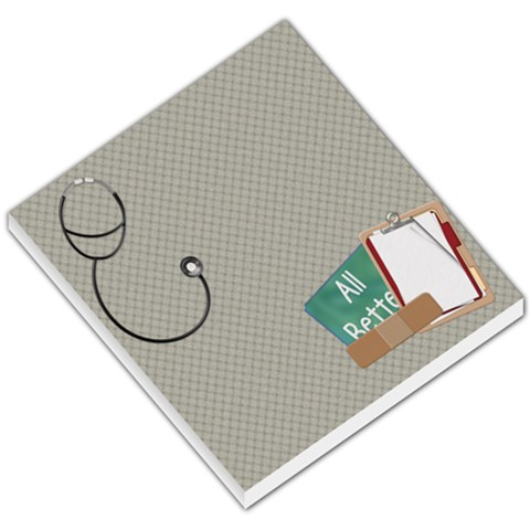 Memo Pad All Better By Lisa Minor   Small Memo Pads   8h5favmo5h96   Www Artscow Com