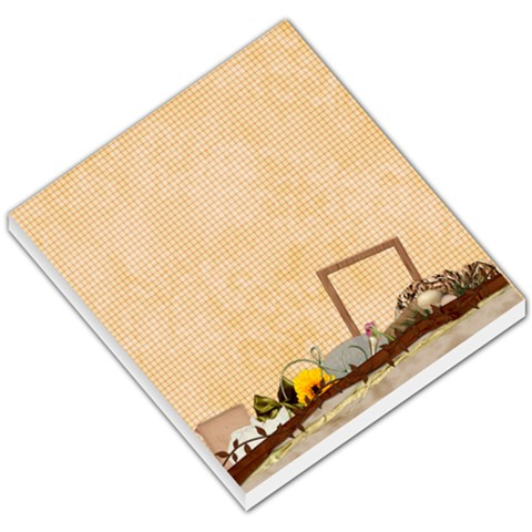 Memo Pad Autumn 1001 By Lisa Minor   Small Memo Pads   Nn769k48k5o9   Www Artscow Com