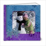 Snow Album 6x6 - 6x6 Photo Book (20 pages)
