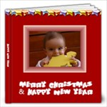 Merry Christmas Book 12x12 20 pages - 12x12 Photo Book (20 pages)