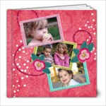 8x8 Pinktastic Holiday/Christmas Album - 8x8 Photo Book (20 pages)
