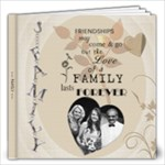 Love of a Family 12x12 Photo Book - 12x12 Photo Book (20 pages)