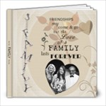 Love of a Family 8x8 Photo Book - 8x8 Photo Book (20 pages)