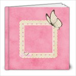 Butterfly sweetness1 - 8x8 Photo Book (20 pages)