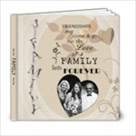 Love of a Family 6x6 Photo Book - 6x6 Photo Book (20 pages)