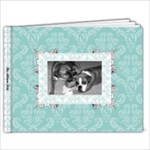 Tiffany Blue 39 9x7 Page Book - 9x7 Photo Book (39 pages)