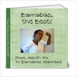 Barnabas Book - 6x6 Photo Book (20 pages)