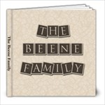 Beene Family Photo Book - 8x8 Photo Book (20 pages)