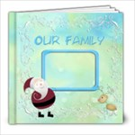 Pere Noel 8x8 photobook - 8x8 Photo Book (20 pages)