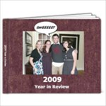 2009 Year in Review - 9x7 Photo Book (39 pages)