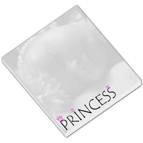 Princess Single Photo Memopad By Amanda Bunn   Small Memo Pads   Xwfar0hz75pp   Www Artscow Com