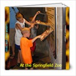 a trip to the zoo  - 8x8 Photo Book (20 pages)