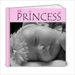 Princess 6x6 album - 6x6 Photo Book (20 pages)