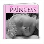 Princess 6x6 album - 6x6 Photo Book (20 pages)