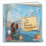 Family Vacation 2010 - 8x8 Photo Book (39 pages)
