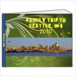 Seattle - 9x7 Photo Book (20 pages)