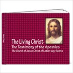 Living Christ - 9x7 Photo Book (20 pages)