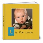For Leon - 8x8 Photo Book (20 pages)