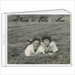 Nick & Ella - 9x7 Photo Book (20 pages)