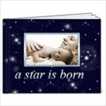 A Star is Born Twinkle Twinkle 7 x 5 Baby Book - 7x5 Photo Book (20 pages)