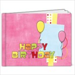 Happy Birthday 7x5 Girl - 7x5 Photo Book (20 pages)