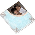 blue victorian memo pad - Small Memo Pads