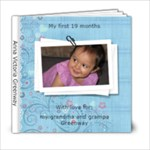 Anna Victoria greenway - 6x6 Photo Book (20 pages)