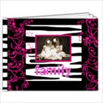 Pink n Zebra Family brag book 7 x 5 - 7x5 Photo Book (20 pages)