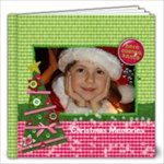 12x12 Hugs & Kissmas/Christmas/Holiday Album - 12x12 Photo Book (20 pages)